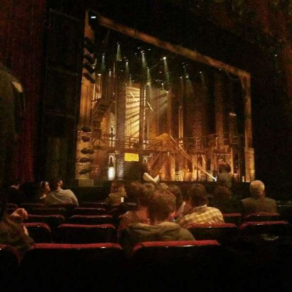 The Fabulous Fox Theatre (St. Louis), section: ORCHB, row: G, seat: 17
