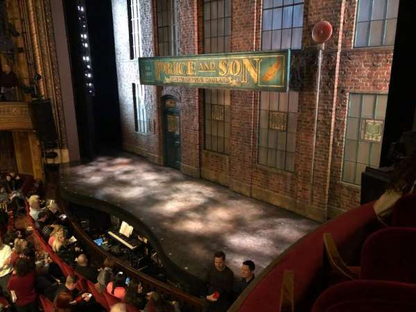 Al Hirschfeld Theatre, row: RIGHT BOX, seat: C9