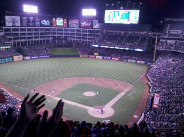 Globe Life Park in Arlington, section: 324, row: 16, seat: 16