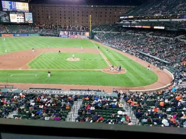 Oriole Park at Camden Yards, section: 246, row: 1, seat: 7
