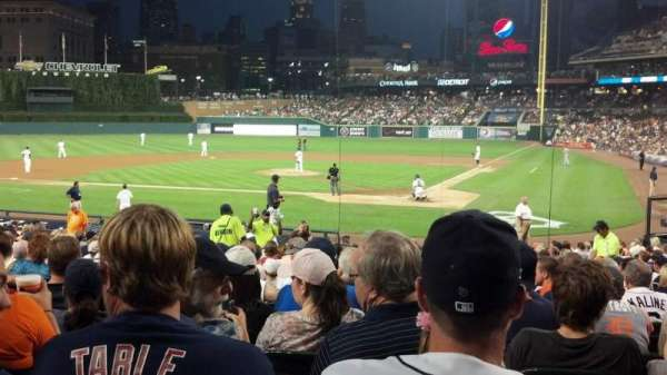 Comerica Park, section: 130, row: 27, seat: 12