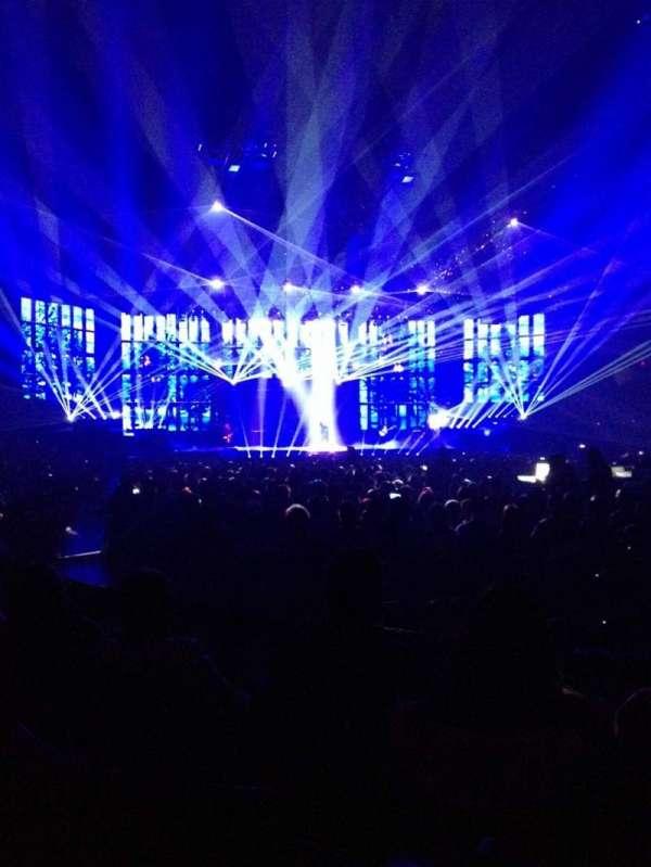 Van Andel Arena, section: 104, row: C, seat: 4