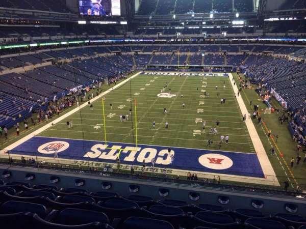 Lucas Oil Stadium, section: 452, row: 5, seat: 10