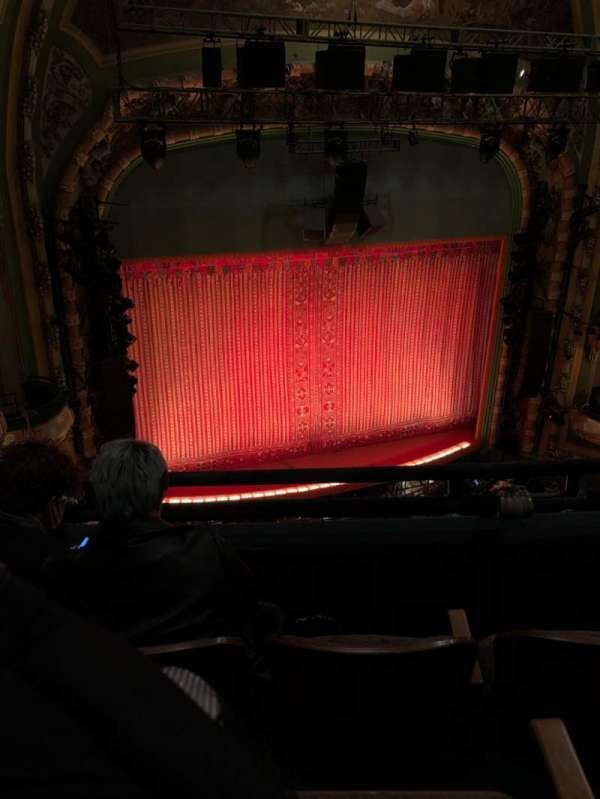 New Amsterdam Theatre, section: Balcony L, row: C, seat: 13