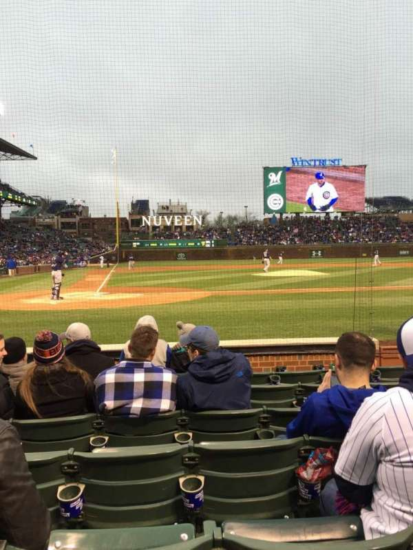Wrigley Field, section: 21, row: 10, seat: 8