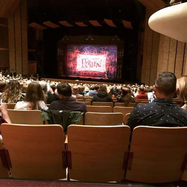 Velma V. Morrison Center for the Performing Arts, section: FLR 5, row: Z, seat: 1