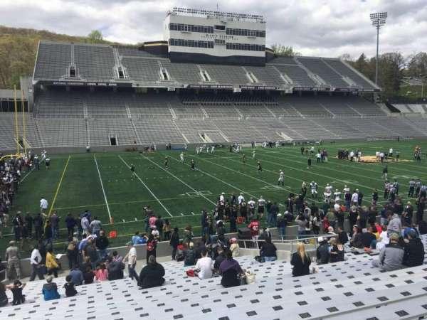 Michie Stadium, section: 31, row: X, seat: 4