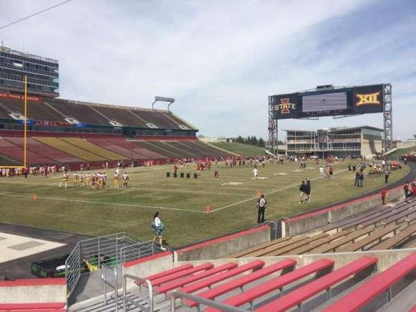 Jack Trice Stadium, section: 24, row: 11, seat: 17