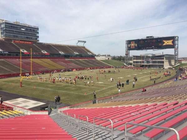Jack Trice Stadium, section: 24, row: 27, seat: 34