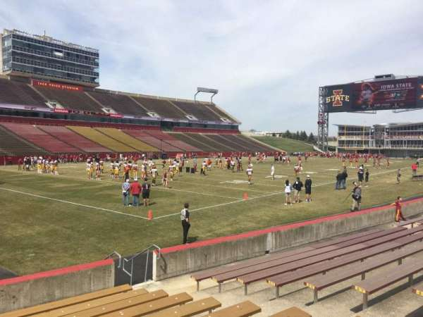 Jack Trice Stadium, section: 26, row: 11, seat: 4