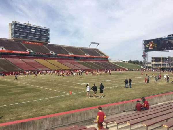 Jack Trice Stadium Section 27 Home Of Iowa State Cyclones