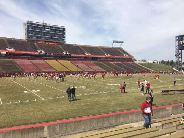 Jack Trice Stadium, section: 29, row: 11, seat: 7