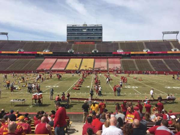 Jack Trice Stadium, section: 35, row: 17, seat: 1
