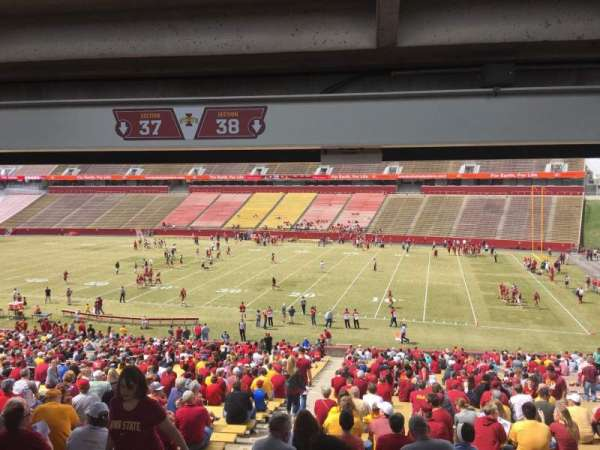Jack Trice Stadium, section: 38, row: 47, seat: 3