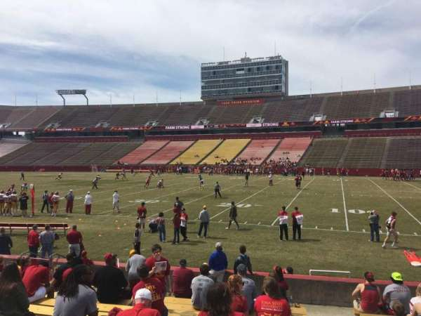 Jack Trice Stadium, section: 36, row: 14, seat: 19
