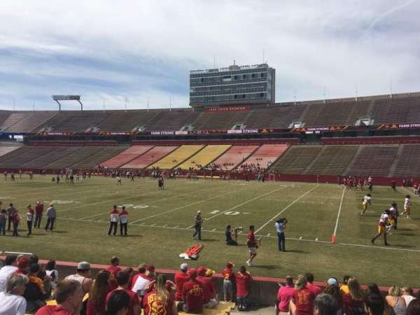 Jack Trice Stadium, section: 39, row: 14, seat: 1