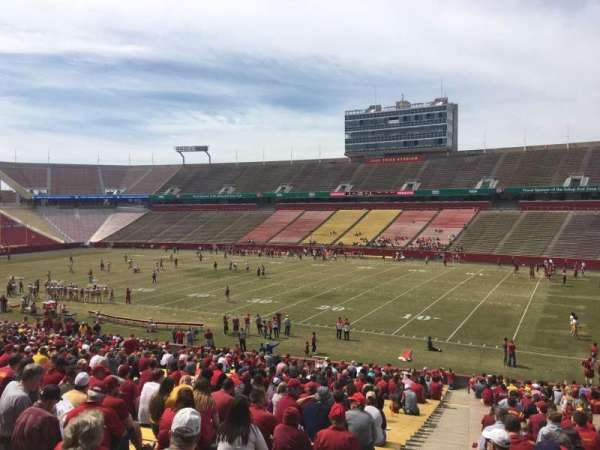 Jack Trice Stadium, section: 39, row: 41, seat: 1