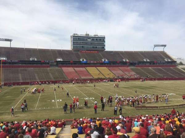 Jack Trice Stadium, section: 30, row: 30, seat: 1