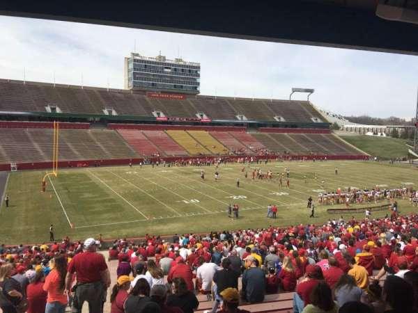 Jack Trice Stadium, section: 28, row: 44, seat: 1
