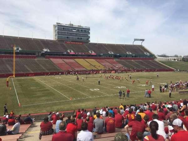 Jack Trice Stadium, section: 28, row: 27, seat: 1
