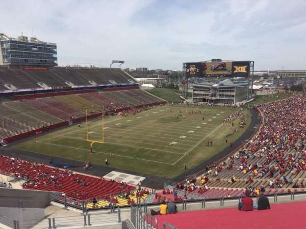 Jack Trice Stadium, section: O, row: 20, seat: 30