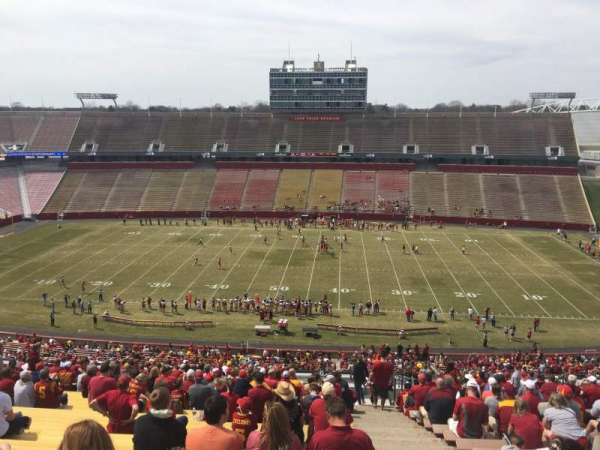 Jack Trice Stadium, section: W, row: 27, seat: 44