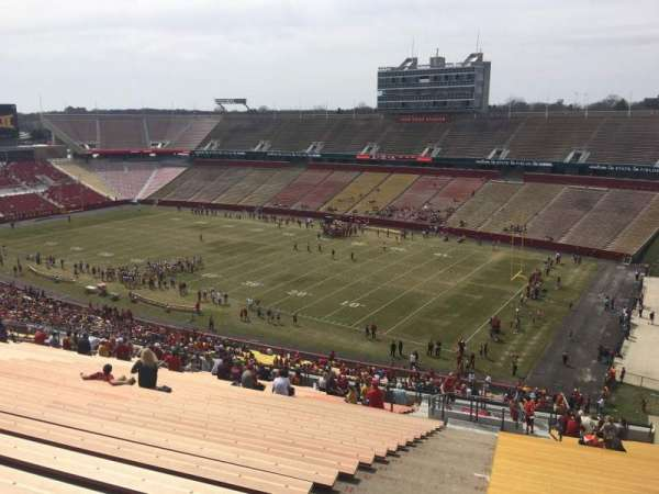 Jack Trice Stadium, section: ZZ, row: 28, seat: 1