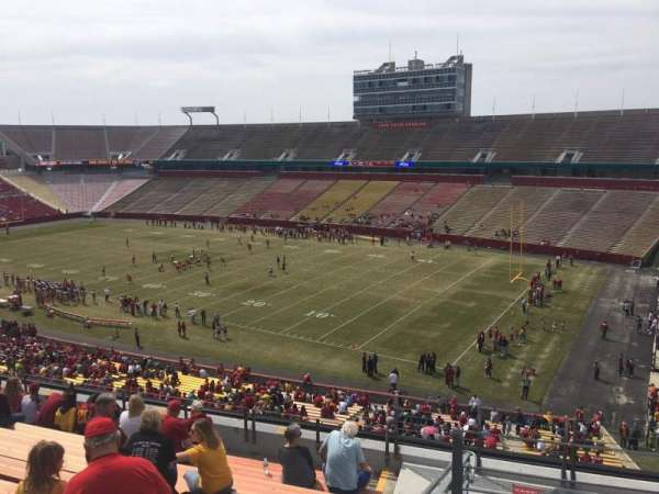 Jack Trice Stadium, section: Z, row: 11, seat: 42
