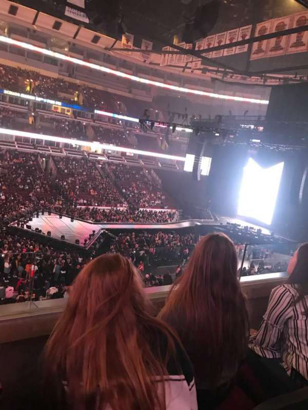 United Center, section: 202, row: 2, seat: 11