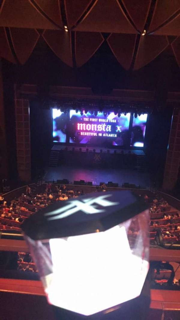Cobb Energy Performing Arts Centre, section: C-FTGT, row: A, seat: 10