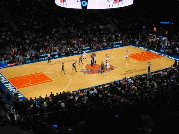 Madison Square Garden, section: 209, row: 10, seat: 1