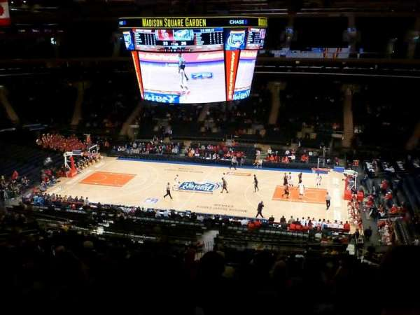 Madison Square Garden, section: 212, row: 11, seat: 10
