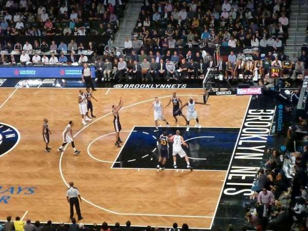 Barclays Center, section: 222, row: 3, seat: 10