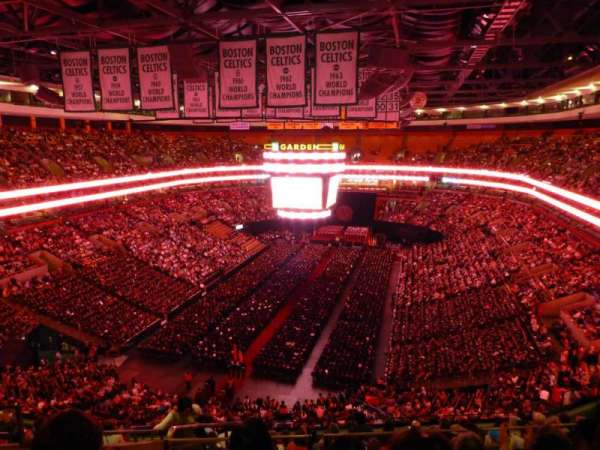 TD Garden, section: BAL 307, row: 15