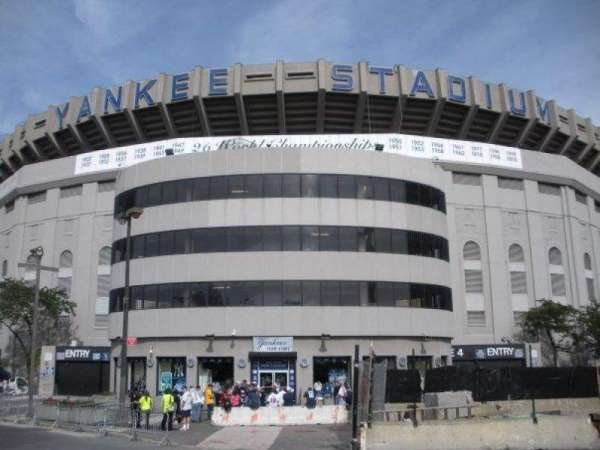 Old Yankee Stadium, section: Gate 4