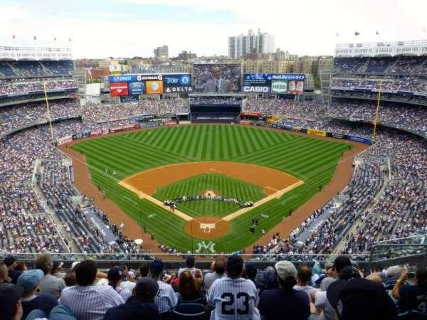 Yankee Stadium, section: 420B, row: 8, seat: 7
