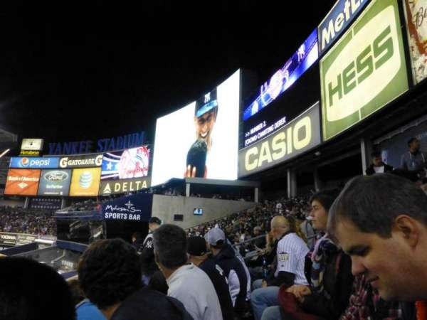 Yankee Stadium, section: 203, row: 8