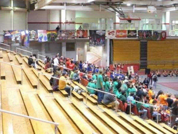 Pritchard Gymnasium, section: 105, row: J, seat: 9