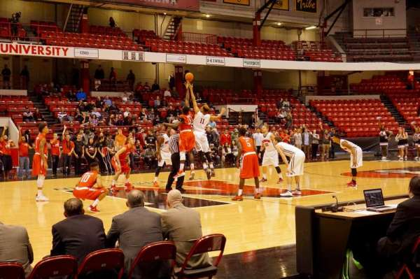 Matthews Arena, section: 24, row: A, seat: 11