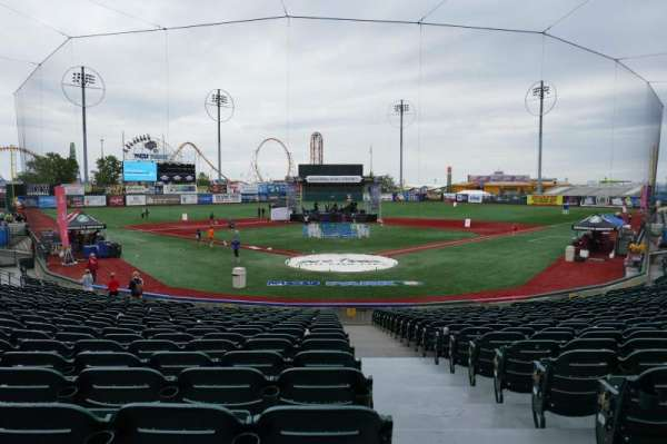 MCU Park, section: 1, row: S, seat: 1