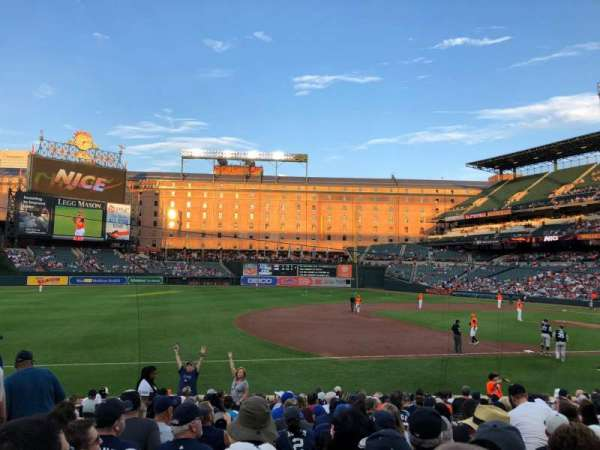 Oriole Park at Camden Yards, section: 58, row: 18, seat: 12