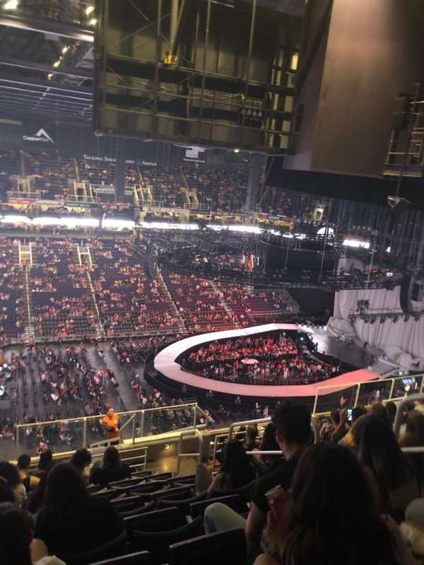 PHX Arena, section: 205, row: 14, seat: 5