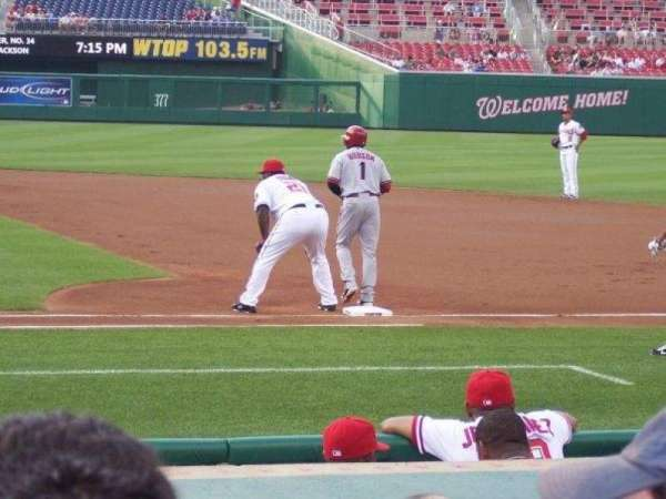 Nationals Park, section: 128, row: 4, seat: 1-2