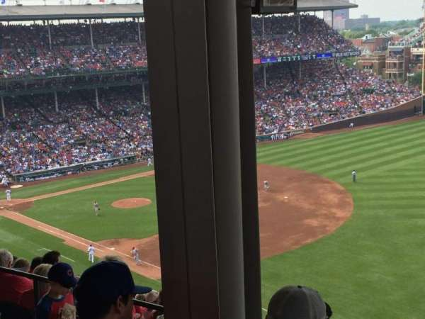 Wrigley Field, section: 430R, row: 3, seat: 4