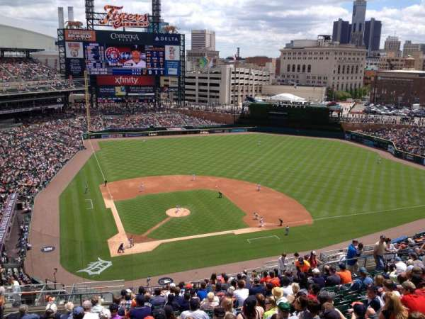 Comerica Park, section: 324, row: 18, seat: 8