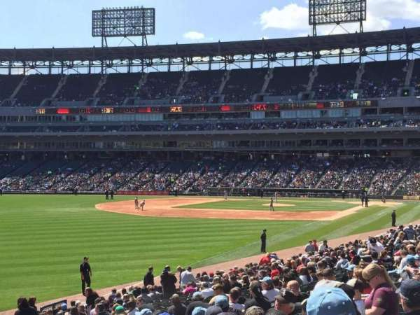 Guaranteed Rate Field, section: 154, row: 25, seat: 14