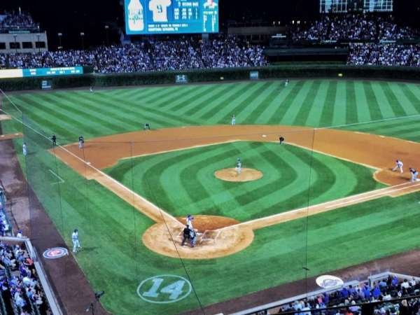 Wrigley Field, section: 422, row: 4, seat: 7