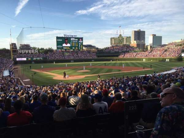 Wrigley Field, section: 220, row: 3, seat: 1