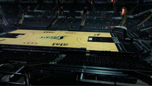 AT&T Center, section: 106, row: 28, seat: 10