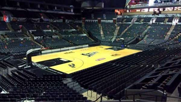 AT&T Center, section: 126, row: 28, seat: 5